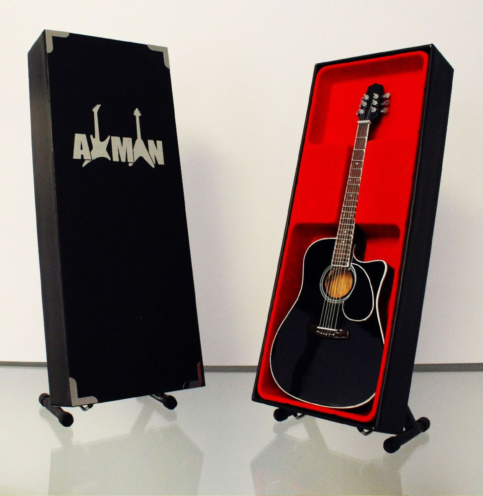 (Bon Jovi) Jon Bon Jovi: Guitar Miniature Replica (UK Seller)